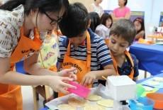 activekids kids group cooking class Japanese international school tai po new territories