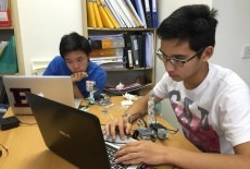 activekids kids robotics class singapore international school  aberdeen