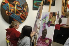Anastassias Art House kids class hkust upc  Sai Kung 4