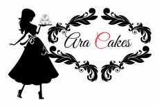 Ara Cakes Retailer Tailor Made Cakes Logo
