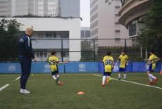 Asia Pacific Soccer School Creative Secondary School Learning Centre Kids Soccer Class Tseung Kwan O