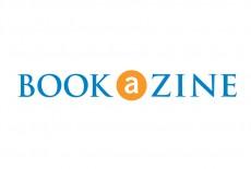 Bookazine Bookstore Exchange Square Books reading Logo