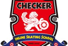 Checker Inline Skating School Learning Centre Kids Skating Class Tai Koo Shing Logo