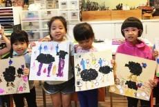 cuckoo art kids class lei king wan 4