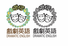 Dramatic English Learning Centre Kids English Class Logo