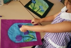 Fabric Art Learning Centre Kids Arts Class sewing class Kennedy Town