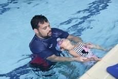 Harry Wright International kids swim swimming class with coach and practice West Island School Pok Fu Lam