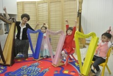 Heartstring Harp Kids Harp Class North Point