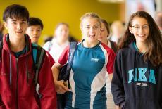 Hong Kong Academy students
