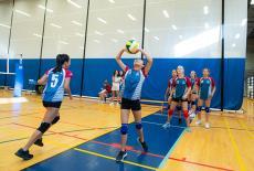 Hong Kong Academy volleyball