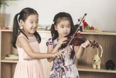 Hong Kong Suzuki Music Institute Kids violin class Shek Tong Tsui