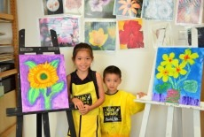 kids gallery bel air art painting classes 2