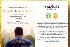 Kids4Kids Kids charity Wan Chai