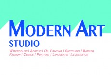 Modern Art Studio Learning Centre Kids Painting Class Tai Wai Logo