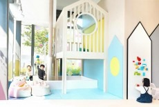 Origami kids Cafe environment